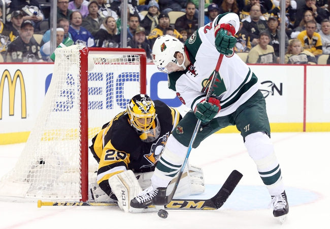 Minnesota Wild vs. Pittsburgh Penguins - 12/26/15 NHL Pick, Odds, and Prediction
