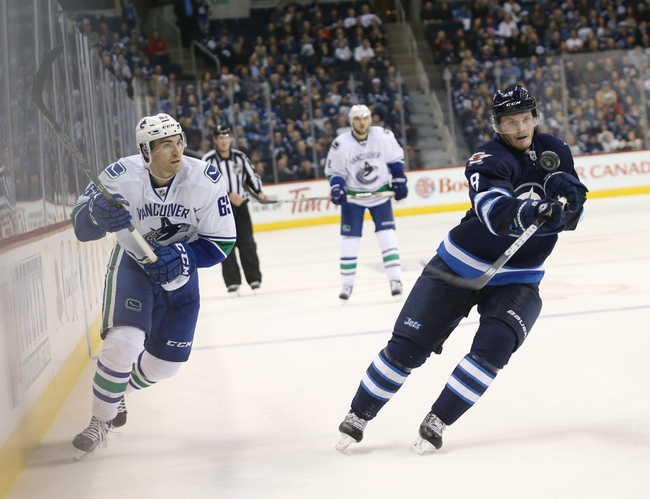 Vancouver Canucks vs. Winnipeg Jets - 3/14/16 NHL Pick, Odds, and Prediction