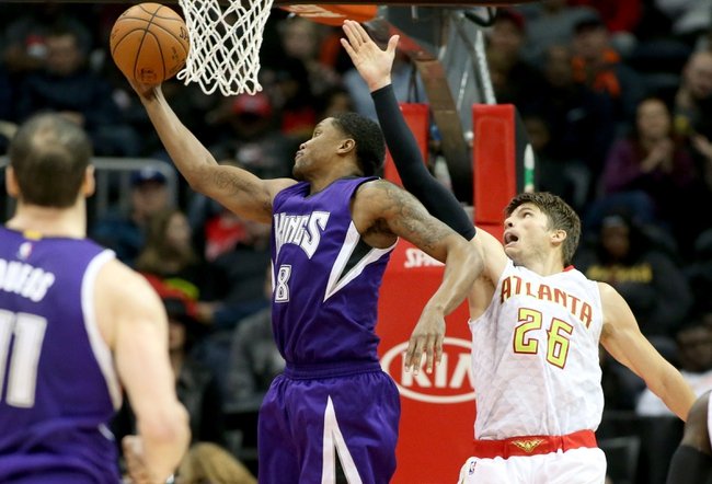 Hawks at Kings - 1/21/16 NBA Pick, Odds, and Prediction