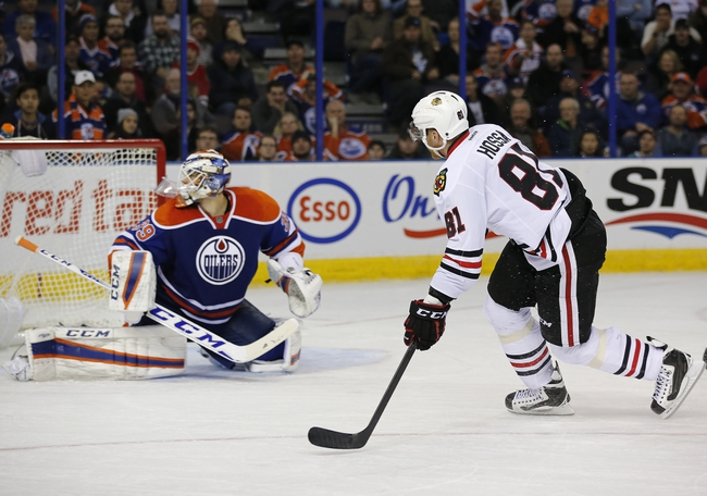 Chicago Blackhawks vs. Edmonton Oilers - 12/17/15 NHL Pick, Odds, and Prediction