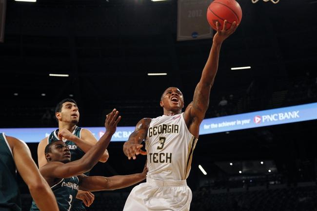 Georgia Tech Yellow Jackets vs. Arkansas Razorbacks - 11/26/15 College Basketball Pick, Odds, and Prediction
