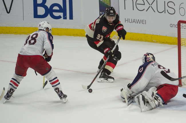 Blue Jackets vs. Senators - 2/13/16 NHL Pick, Odds, and Prediction