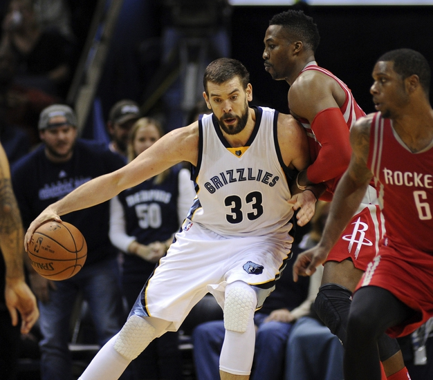 Houston Rockets vs. Memphis Grizzlies - 11/25/15 NBA Pick, Odds, and Prediction