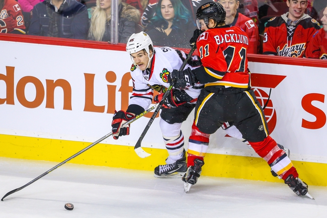Flames vs. Blackhawks - 3/26/16 NHL Pick, Odds, and Prediction