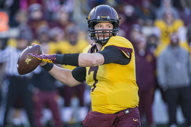 Minnesota vs. Wisconsin - 11/28/15 College Football Pick, Odds, and Prediction