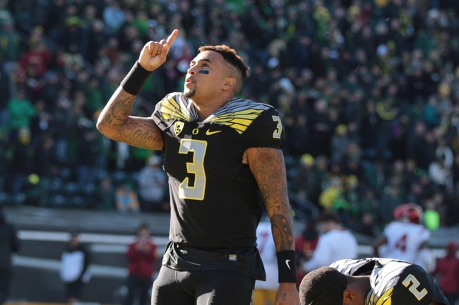 Oregon State at Oregon - 11/27/15 College Football Pick, Odds, and Prediction