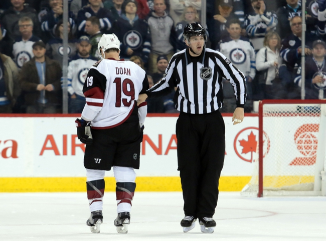 Arizona Coyotes vs. Winnipeg Jets - 12/31/15 NHL Pick, Odds, and Prediction