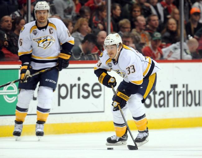 Nashville Predators vs. Minnesota Wild - 12/19/15 NHL Pick, Odds, and Prediction