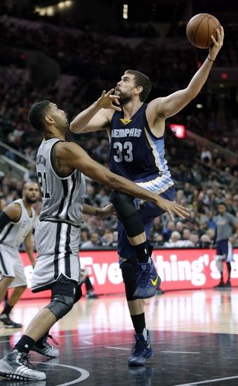Memphis Grizzlies vs. San Antonio Spurs - 12/3/15 NBA Pick, Odds, and Prediction