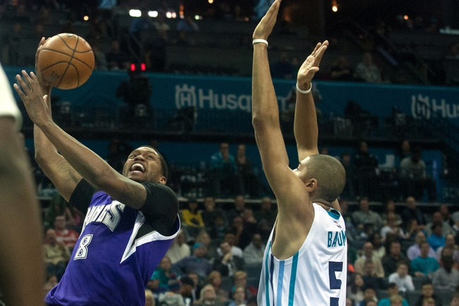 Hornets at Kings - 1/25/16 NBA Pick, Odds, and Prediction