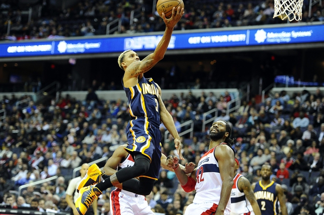 Pacers vs. Wizards - 1/15/16 NBA Pick, Odds, and Prediction