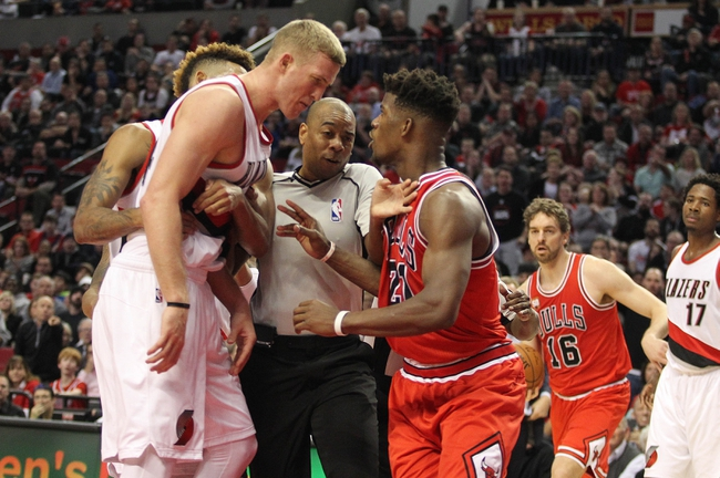 Portland Trail Blazers at Chicago Bulls - 2/27/16 NBA Pick, Odds, and Prediction