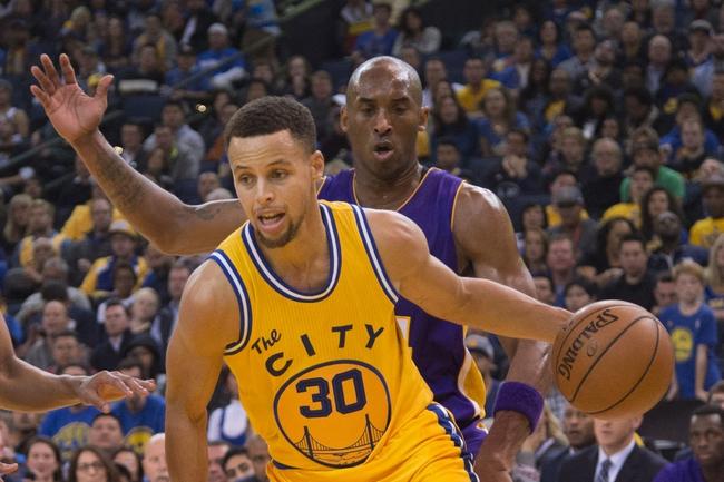 Warriors at Lakers - 1/5/16 NBA Pick, Odds, and Prediction