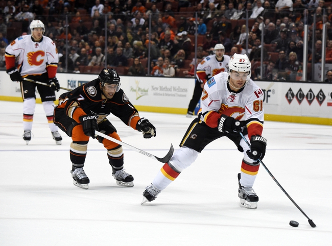 Calgary Flames vs. Anaheim Ducks - 12/29/15 NHL Pick, Odds, and Prediction