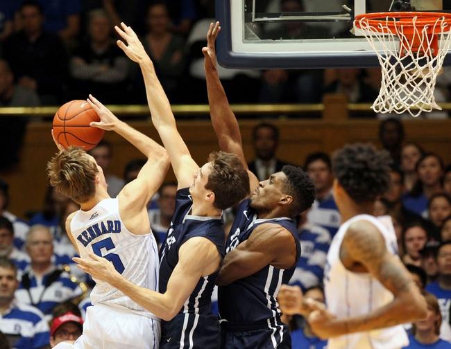 Duke Blue Devils vs. Utah State Aggies - 11/29/15 College Basketball Pick, Odds, and Prediction