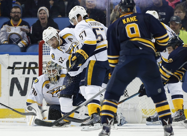 Nashville Predators vs. Buffalo Sabres - 11/28/15 NHL Pick, Odds, and Prediction