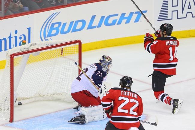 Blue Jackets vs. Devils - 2/25/16 NHL Pick, Odds, and Prediction