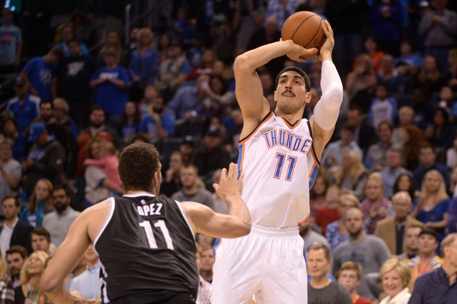 Thunder at Nets - 1/24/16 NBA Pick, Odds, and Prediction