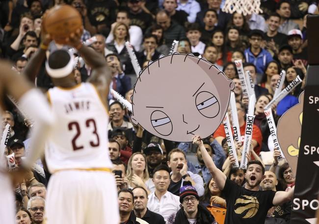 Raptors at Cavaliers - 1/4/16 NBA Pick, Odds, and Prediction