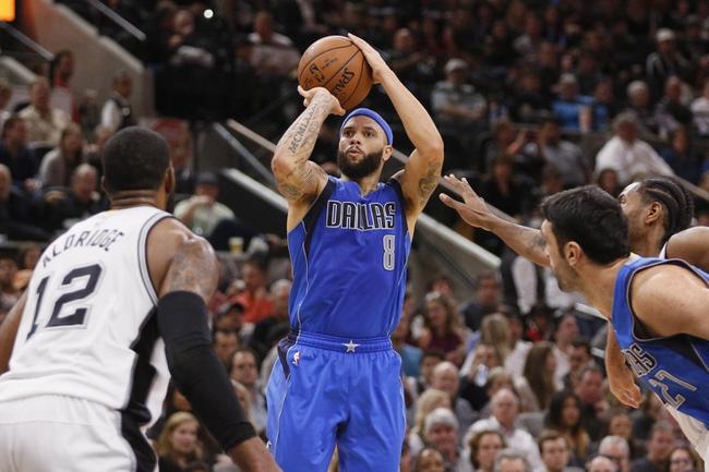 San Antonio Spurs vs. Dallas Mavericks - 1/17/16 NBA Pick, Odds, and Prediction