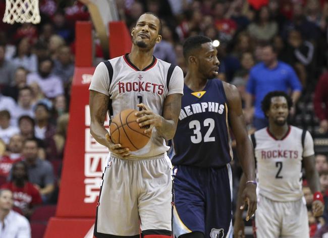 Rockets at Grizzlies - 1/12/16 NBA Pick, Odds, and Prediction