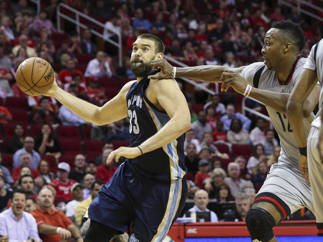 Memphis Grizzlies vs. Houston Rockets - 1/12/16 NBA Pick, Odds, and Prediction