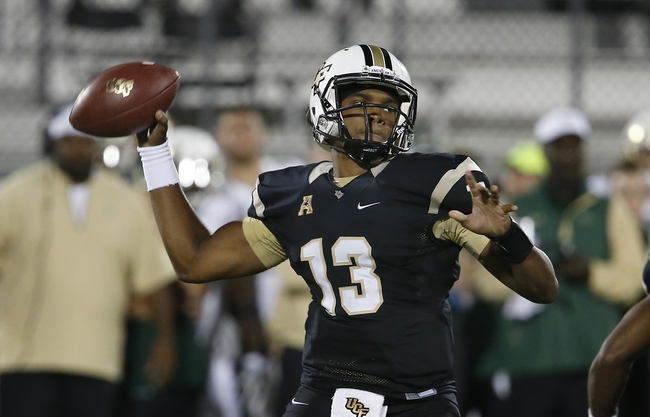 UCF vs. Maryland - 9/17/16 College Football Pick, Odds, and Prediction