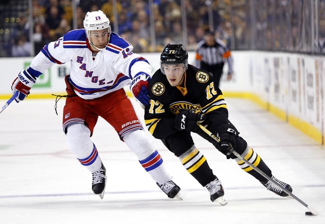 New York Rangers vs. Boston Bruins - 1/11/16 NHL Pick, Odds, and Prediction