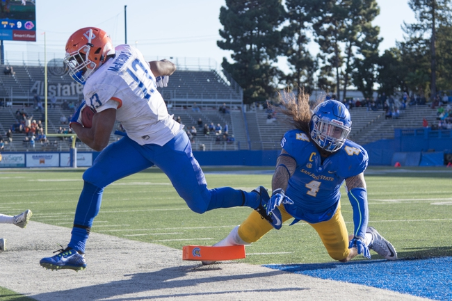 Poinsettia Bowl--Northern Illinois Huskies vs. Boise State Broncos - 12/23/15 College Football Pick, Odds, and Prediction