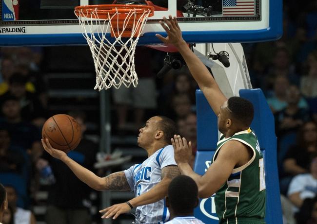 Bucks vs. Magic - 1/26/16 NBA Pick, Odds, and Prediction
