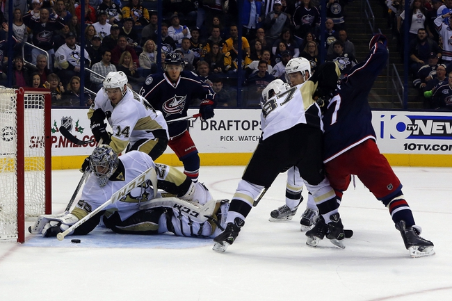 Pittsburgh Penguins vs. Columbus Blue Jackets - 12/21/15 NHL Pick, Odds, and Prediction