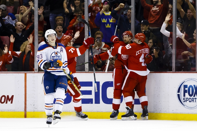 Detroit Red Wings vs. Edmonton Oilers - 11/6/16 NHL Pick, Odds, and Prediction