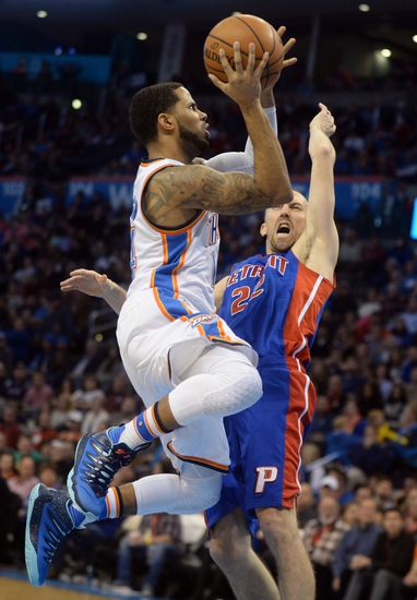 Detroit Pistons vs. Oklahoma City Thunder - 3/29/16 NBA Pick, Odds, and Prediction