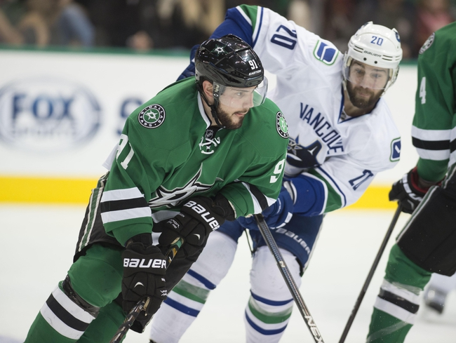 Vancouver Canucks vs. Dallas Stars - 12/3/15 NHL Pick, Odds, and Prediction