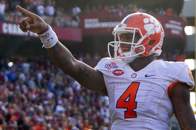 North Carolina Tar Heels vs. Clemson Tigers - 12/5/15 College Football Pick, Odds, and Prediction