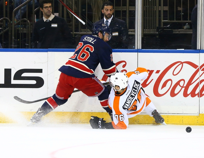 Flyers vs. Rangers - 2/6/16 NHL Pick, Odds, and Prediction