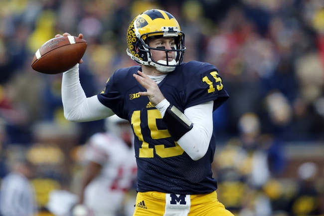 Buffalo Wild Wings Citrus Bowl - Florida Gators vs. Michigan Wolverines - 1/1/16 College Football Pick, Odds, and Prediction
