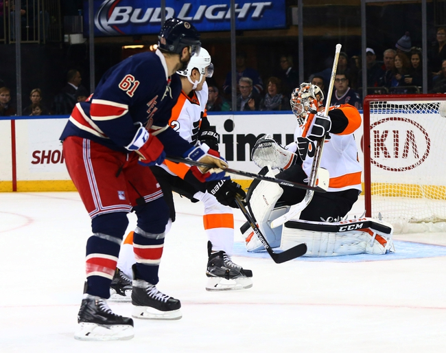 Flyers vs. Rangers - 1/16/16 NHL Pick, Odds, and Prediction