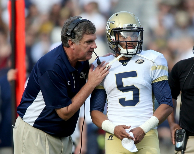 Georgia Tech Yellow Jackets vs. Boston College Eagles - 9/3/16 College Football Pick, Odds and Prediction