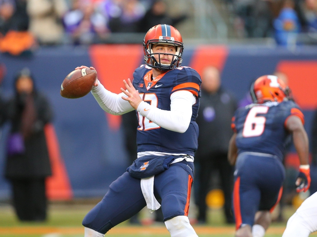 Purdue Boilermakers at Illinois Fighting Illini - 10/8/16 College Football Pick, Odds, and Prediction