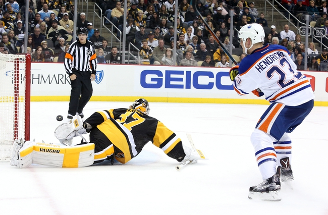 Pittsburgh Penguins vs. Edmonton Oilers - 11/8/16 NHL Pick, Odds, and Prediction