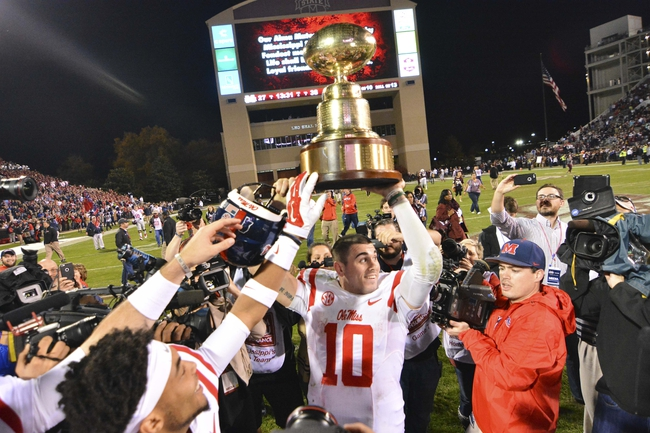 Ole Miss vs. Mississippi State - 11/26/16 College Football Pick, Odds, and Prediction