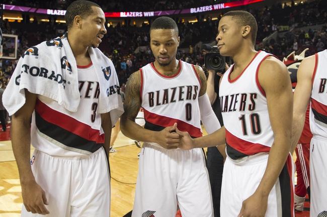 Utah Jazz at Portland Trail Blazers - 10/25/16 NBA Pick, Odds, and Prediction
