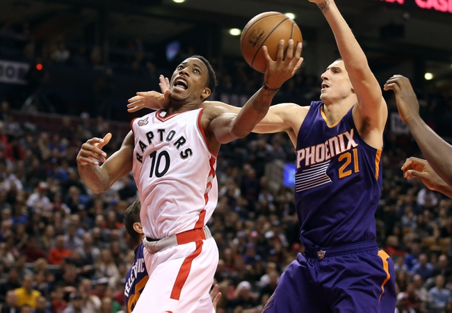 Phoenix Suns vs. Toronto Raptors - 2/2/16 NBA Pick, Odds, and Prediction