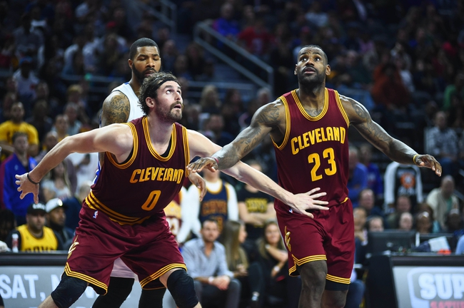 Cavaliers at Pistons - 1/29/16 NBA Pick, Odds, and Prediction