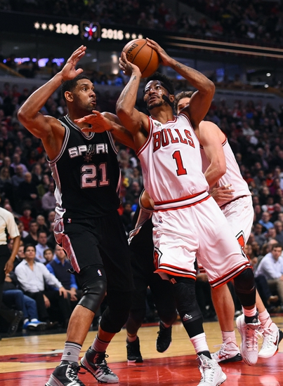 Chicago Bulls at San Antonio Spurs - 3/10/16 NBA Pick, Odds, and Prediction