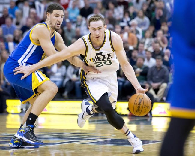 Golden State Warriors vs. Utah Jazz - 12/23/15 NBA Pick, Odds, and Prediction
