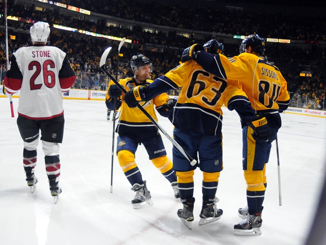 Coyotes vs. Predators - 1/9/16 NHL Pick, Odds, and Prediction