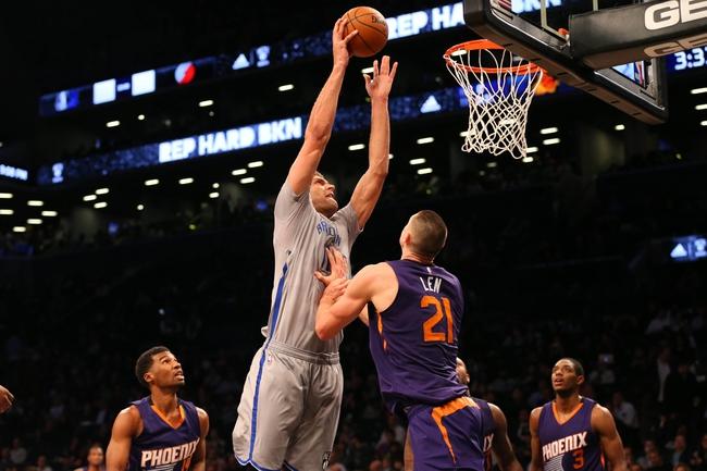 Suns vs. Nets - 2/25/16 NBA Pick, Odds, and Prediction