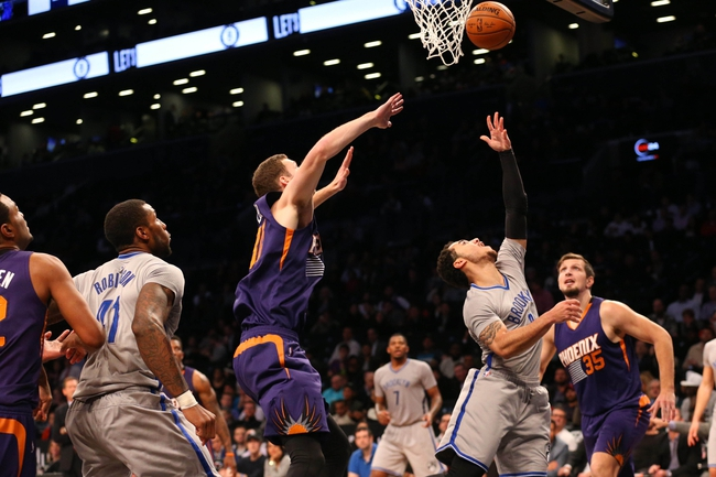 Brooklyn Nets at Phoenix Suns  - 2/25/16 NBA Pick, Odds, and Prediction